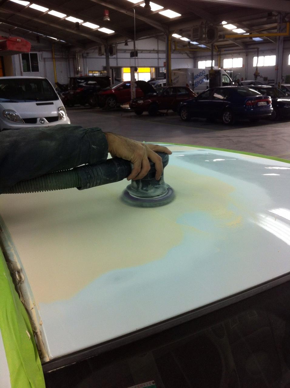 Recomendaciones sobre cómo lijar masilla en un coche – Foro Pintura ...