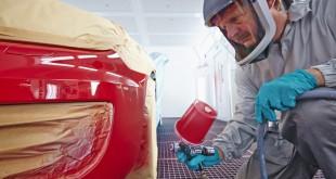 Proceso de difuminado para pintado de coches