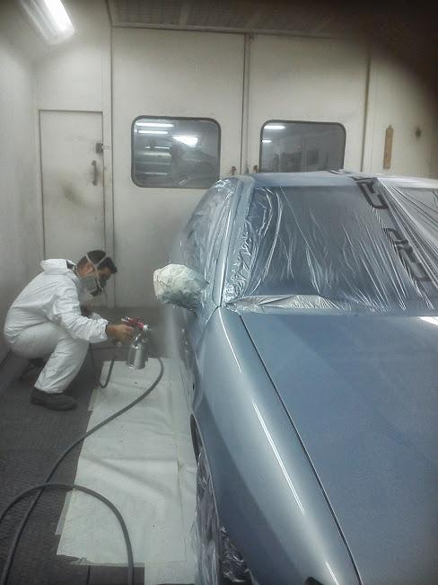 Como pintar un coche sin cabina coche - Empapelar coche para pintar ...